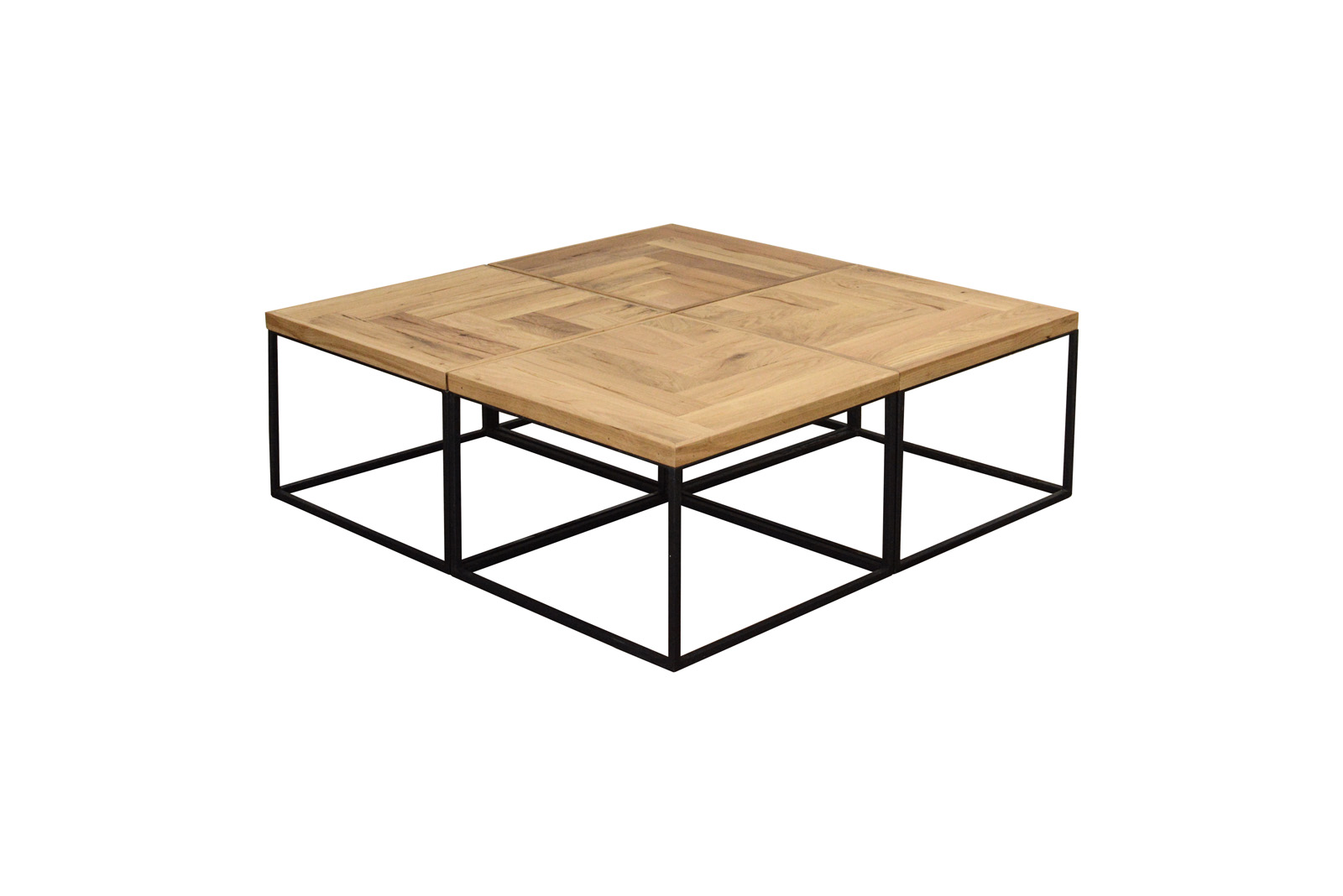 Square Puzzle Coffee Table Set